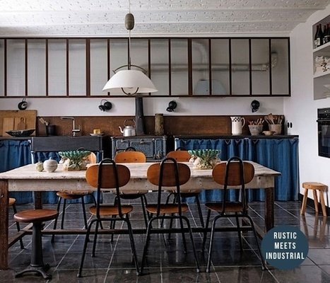 Wednesday Mix : Rustic Dining Spaces | NIU. Interiors & homes | Scoop.it
