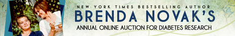 Brenda Novak 's On-line Auction for Diabetes Research Home Page | diabetes and more | Scoop.it