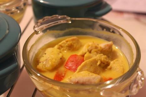 Enkla och Snabba Recept: Minigrytor: kyckling och paprika i senapssâs | Recept | Scoop.it