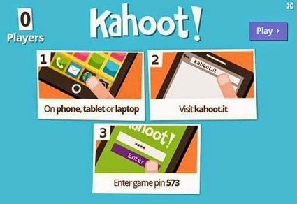 Teachers Use Tech: Students Go Crazy for Kahoot! Why You Should Play... | Edtech PK-12 | Scoop.it
