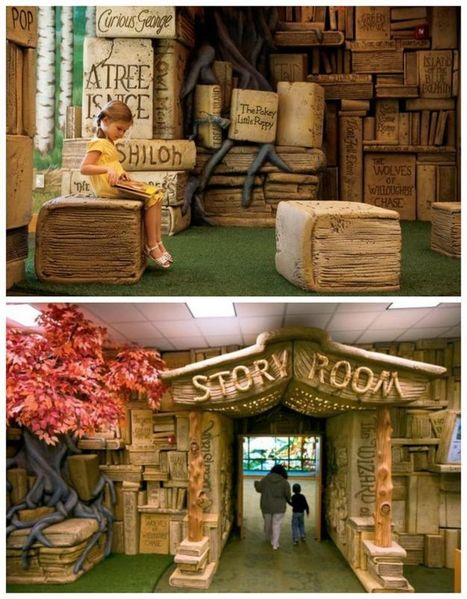 The 8 Most Incredible Children's Libraries in the World | Kirjastorakennukset | Scoop.it