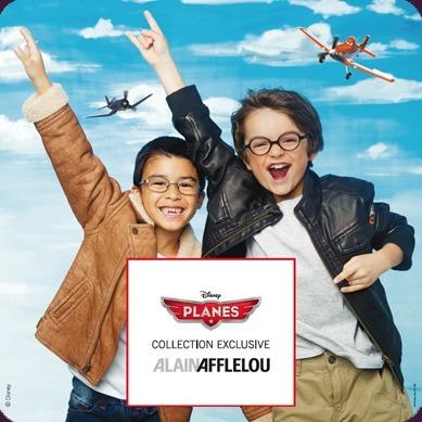 Disney Planes | Alain Afflelou | veille optique concurrents | Scoop.it