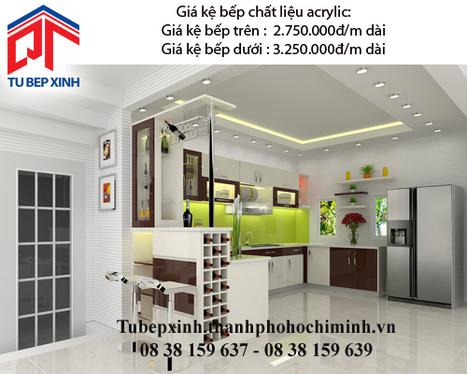 Kệ bếp acrylic nhà cô Minh Anh - Vũng Tàu - Ke-bep-acrylic-nha-co-minh-anh---vung-tau - tu van du hoc uy tin|du hoc gia re - | TỦ BẾP MFC - GIÁ TỦ BẾP MFC | Scoop.it