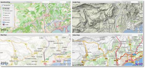 5 servicios web para comparar mapas de diferentes plataformas | #GoogleMaps | Scoop.it