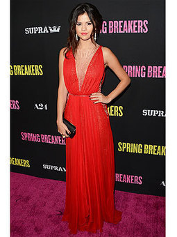The Look Everyone's Loving This Week: Selena Gomez's Red Gown | TAFT: Trends And Fashion Timeline | Scoop.it