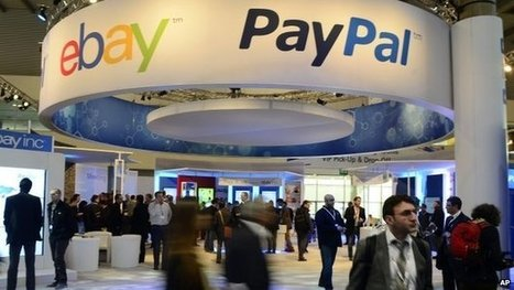 eBay to split off PayPal online payment business - BBC News | ecommerce | Scoop.it