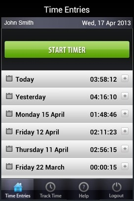 Most excellent Time Tracker App  for Android | Talygen | Scoop.it