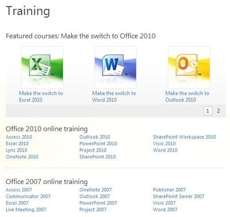 Training - Office.com | Free Tutorials in EN, FR, DE | Scoop.it