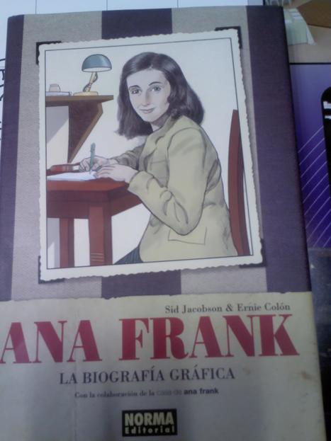 ANA FRANK. La biografía gráfica. Ed. Norma | FOMENTO DE LA LECTURA EN ADOLESCENTES | Scoop.it