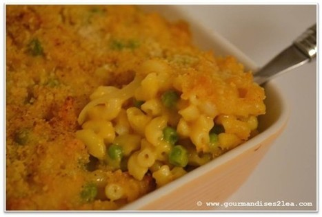 Gratin de coquillettes (sans fromage) - Les gourmandises de Léa | Food & Recipes | Mes 2 mains débutent | Scoop.it
