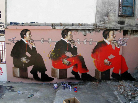 Fintan Magee in Jakarta, Indonesia | World of Street & Outdoor Arts | Scoop.it