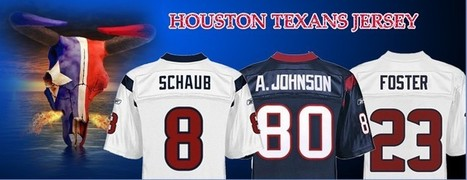 Houston Texans Pink Jersey | Houston Texans White Jersey | Scoop.it