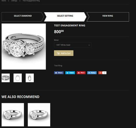 How to Integrate Rapnet Diamond feed with Shopify   E-commerce for Diamond & jewelry industry   Scoop.it