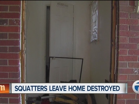 Disaster discovered after squatters leave Detroit home | Littlebytesnews Current Events | Scoop.it
