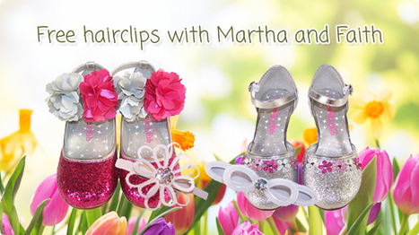 Free Hairclips with martha and faith   The Sparkle Club   Scoop.it