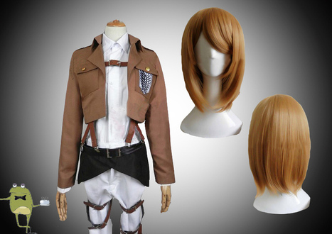 Attack on Titan Petra Ral Cosplay Costume + Wig | Attack on Titan Cosplay Costumes | Scoop.it