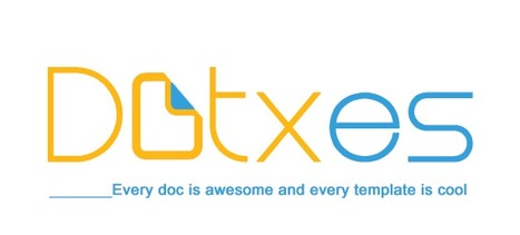 Dotxes - Every template is awesome and every docx is cool | About some templates | Scoop.it