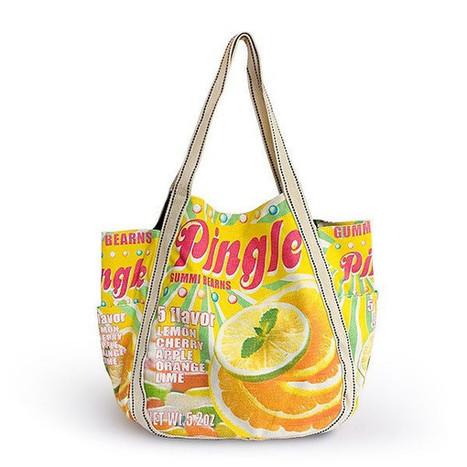 ILEA - [Pingle] 100% Cotton Eco Canvas Shoulder Tote Bag / Shopper Bag / Multiple Pockets ladies clothing | homeschooling | Scoop.it