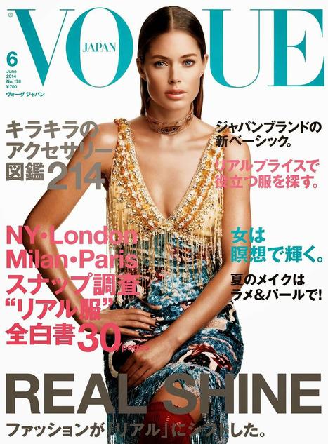 Doutzen Kroes Covers Vogue Magazine - Magazines Cover Girl | Magazines Cover Girl | Scoop.it
