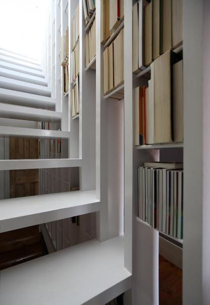 Tamir Addadi Architecture - Project - Stair-bookcase for a private house | Kuche Design | Scoop.it