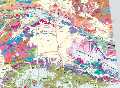 Finally, a digital map for Alaska - Geographical | Fantastic Maps | Scoop.it