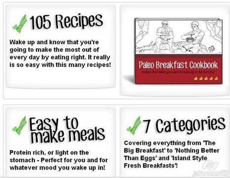 paleo breakfast recipes cookbook | relevant topics for improve our daily living | Scoop.it