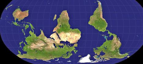 La mentira de los mapas o cómo nos engaña la forma geoide de la Tierra - Noticias de Sociedad | Nuevas Geografías | Scoop.it