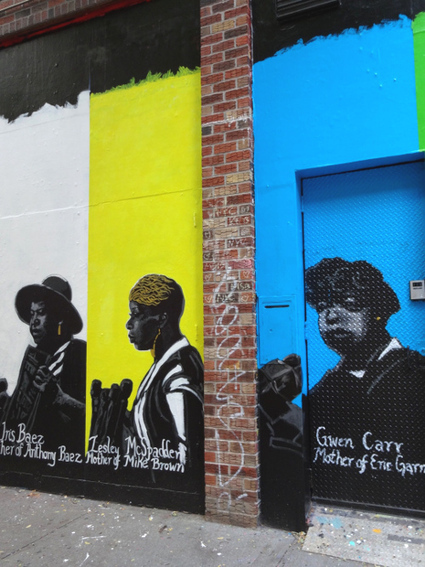 New York City Mural Tributes Mothers Who've Lost Sons to Police Violence and Racism | SocialAction2014 | Scoop.it