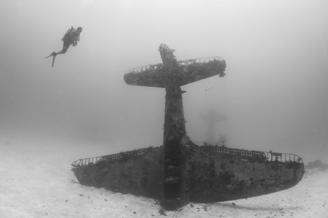 Underwater graveyard full of WWII planes is otherworldly | Outbreaks of Futurity | Scoop.it