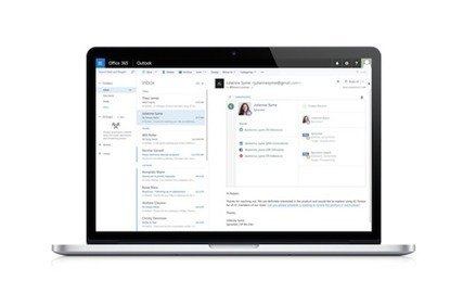 Salesforce Delivers Machine Learning To Microsoft Outlook - InformationWeek | Innovations in learning | Scoop.it