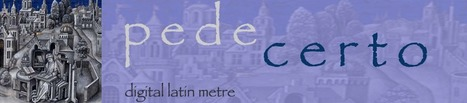Pede certo | Latin.resources.useful | Scoop.it