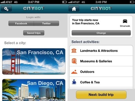Citybot: Your Custom Travel Guide   iPhone.AppStorm   Fun and the Sun   Scoop.it