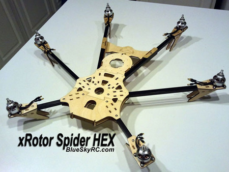 BlueSkyRC.com, RC Planes Camera Mounts and More | Heron | Scoop.it
