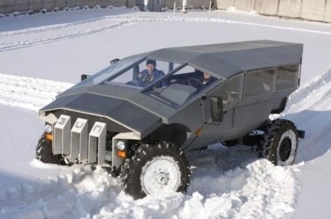 Russian Military commissions bizarre off-road Troop Carrier | Military-Stuff | Scoop.it