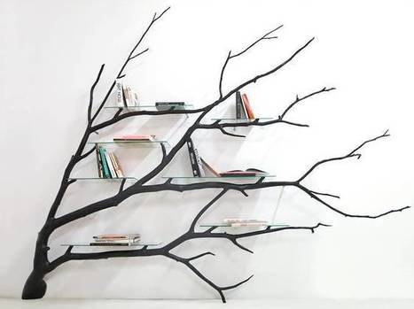 Fallen tree branches transformed into elegant furniture | Creative_me | Scoop.it