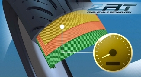 Michelin Announces Breakthrough 2AT Bias-Radial Motorcycle Tires [Video] - autoevolution | Motorcycle Innovations | Scoop.it