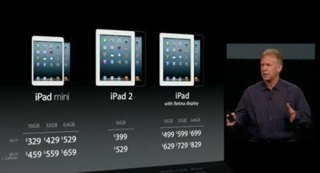 iPad Mini vs. iPad 2 vs. iPad 4: Which iPad Should You Buy? | PadGadget | iPad Apps for Middle School | Scoop.it