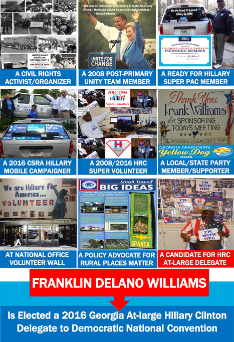 """""""Click here to support My 2016 DNC Hillary Delegate Trip"""" 