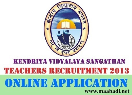 KVS Teachers Recruitment 2013 Online Application at www.kvsangathan.nic.in | Latest Government Jobs In India | AP DSC 2013 Notification for 20508 Teacher posts at www.dseap.gov.in | Scoop.it