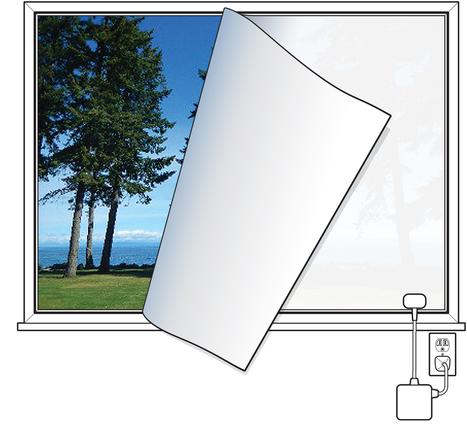 'Smart' Windows Lighten And Darken On Cue | Low Power Heads Up Display | Scoop.it