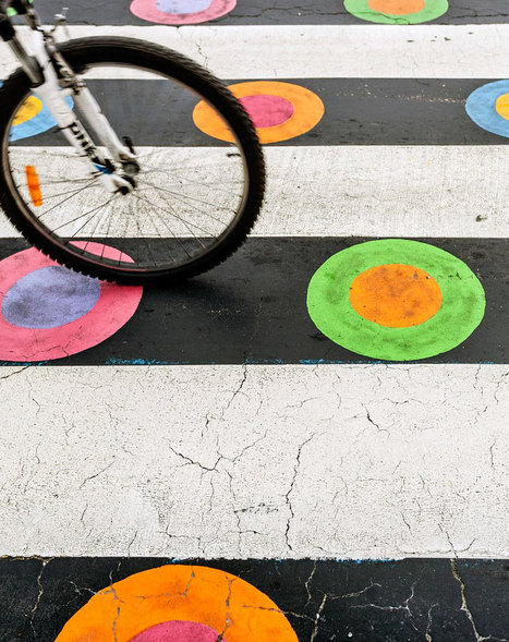 Madrid's Crosswalks Turned Into Colorful Works Of Art By Bulgarian Artist | Street Art | Scoop.it