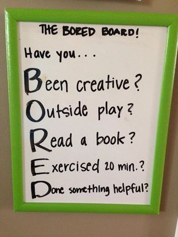 Slaying the I'M BORED Monster | TeachSpeech, LLC | Resources for  SLP's | Scoop.it