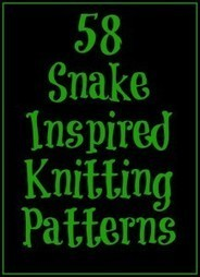 Snake Inspired Knitting Patterns - Naturally Cracked | Spinning, Weaving and Knitting | Scoop.it