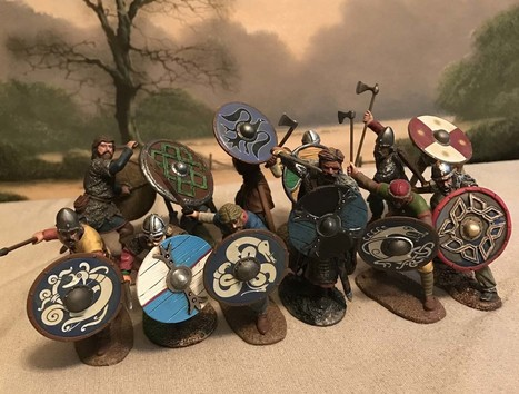 The wrath of the Northmen - Shield Wall | Military Miniatures H.Q. | Scoop.it