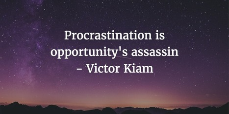 The Psychology of Procrastination: 5 ways to stop putting things off for good | brain in charge | Scoop.it