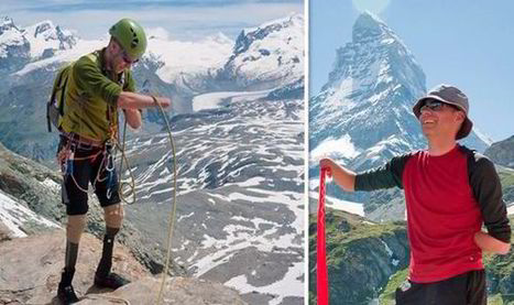 The Limbless Mountaineer: Quadruple amputee Jamie Andrew in quest to climb ... - Express.co.uk | Disability News Update | Scoop.it