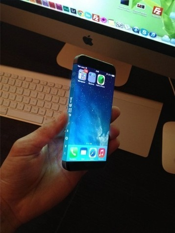 New iPhone 6 Concept Features A Wraparound Display [VIDEO] | MarketingHits | Scoop.it