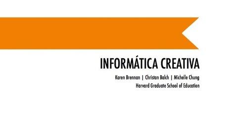Disponible para descarga la guía Informática Creativa de Scratch | EDUCACIÓN en Puerto TIC | Scoop.it