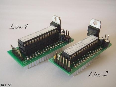 Lira ~ An Open Source Arduino-compatible Microcontroller   Arduino progz   Scoop.it