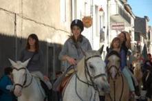 Les chevaux ont conquis la bastide - Sud Ouest | L'année 2014 à Ste Foy la Grande | Scoop.it